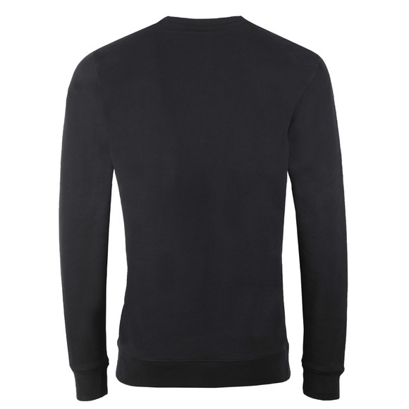 BOSS Mens Black Casual WBlurry Sweatshirt
