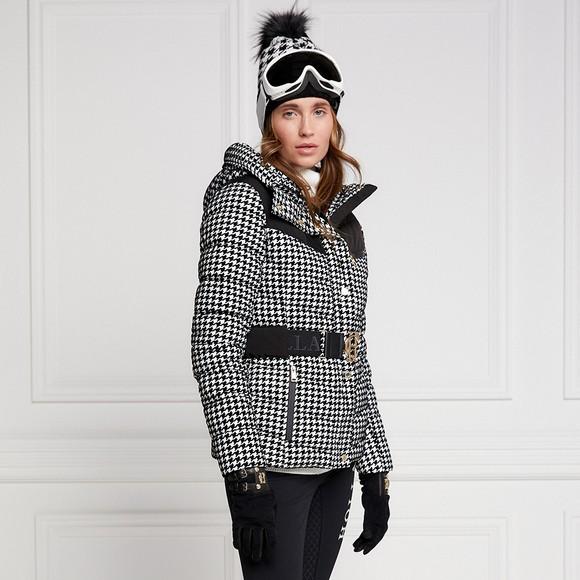 Holland Cooper Womens Black Vermont Puffer Jacket main image