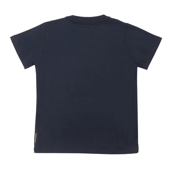 Emporio Armani Boys Blue Boys Small Logo T Shirt