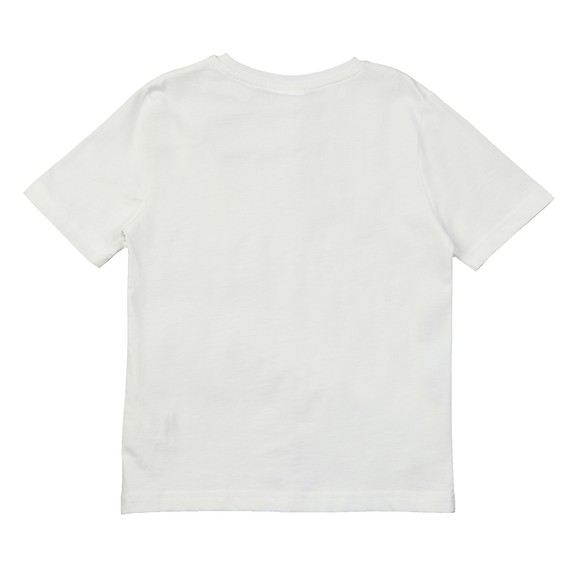 BOSS Boys White J25G89 Logo T Shirt main image