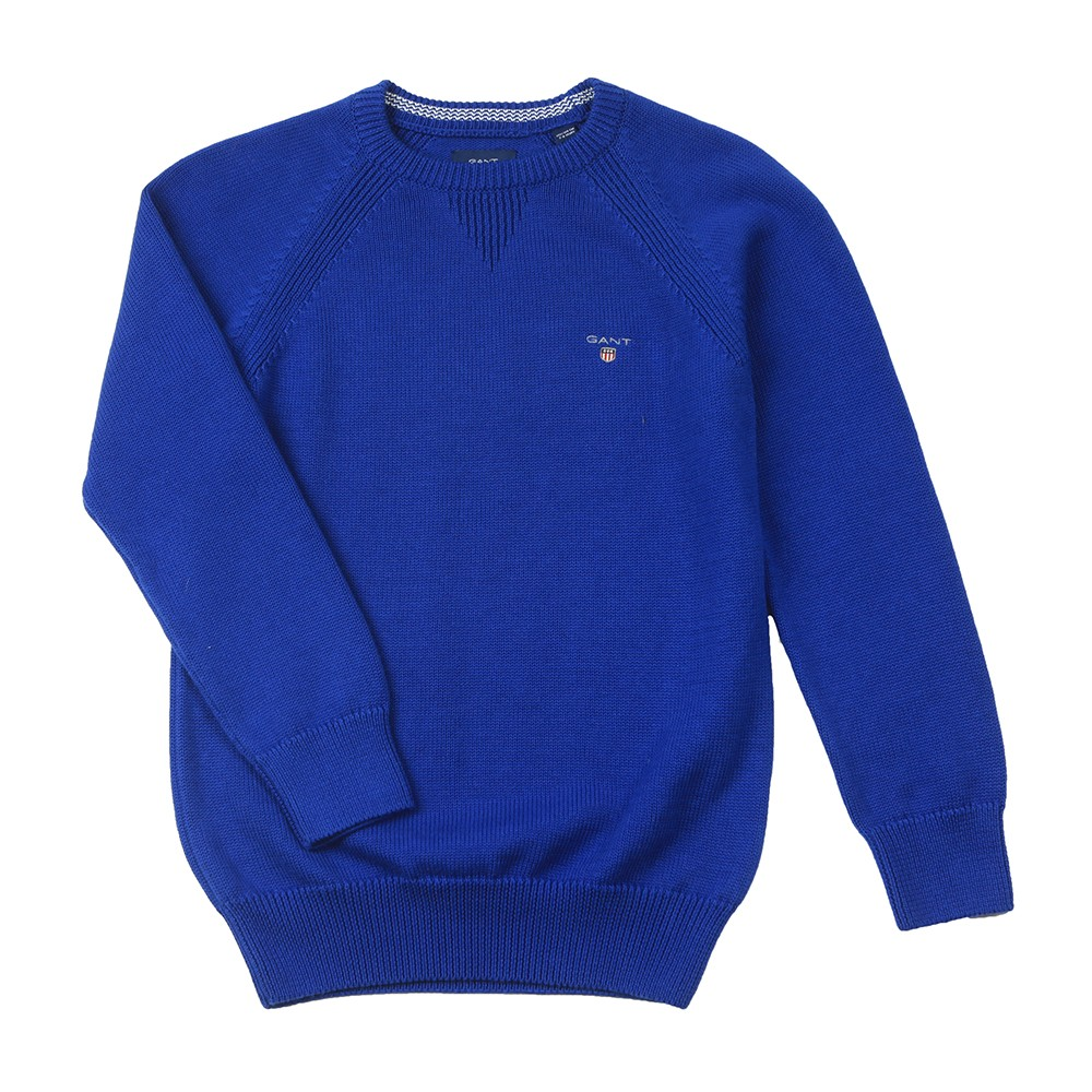 Casual Cotton Crew Jumper