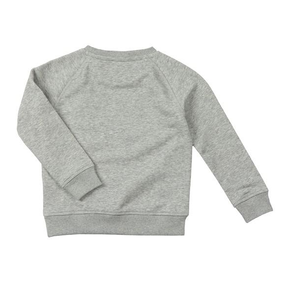 Gant Boys Grey Original Crew Sweatshirt