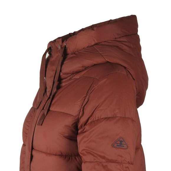 Barbour Lifestyle Womens Brown Cassins Quilt