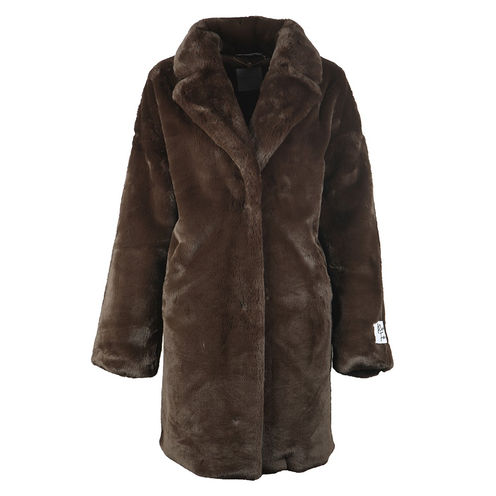 Joela Faux Fur Coat main image