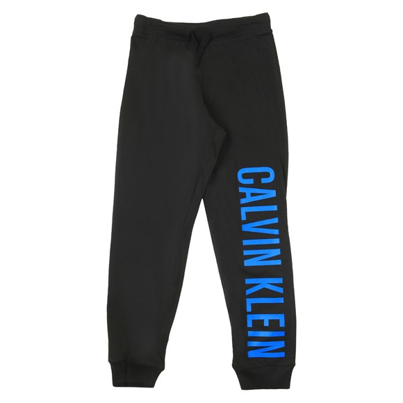 Calvin Klein Boys Black Logo Pyjama Bottom