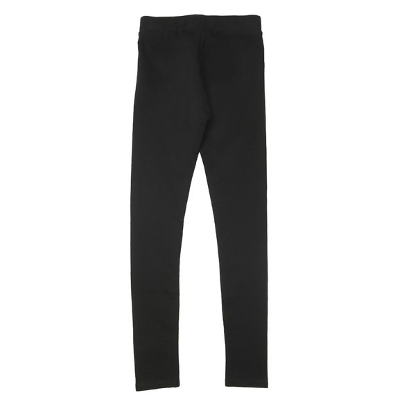 Tommy Hilfiger Kids Girls Black Essential Logo Legging