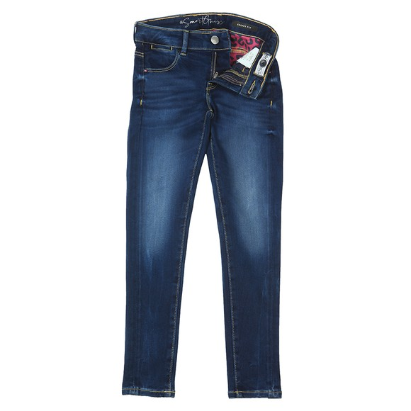 Guess Girls Blue Skinny Jean