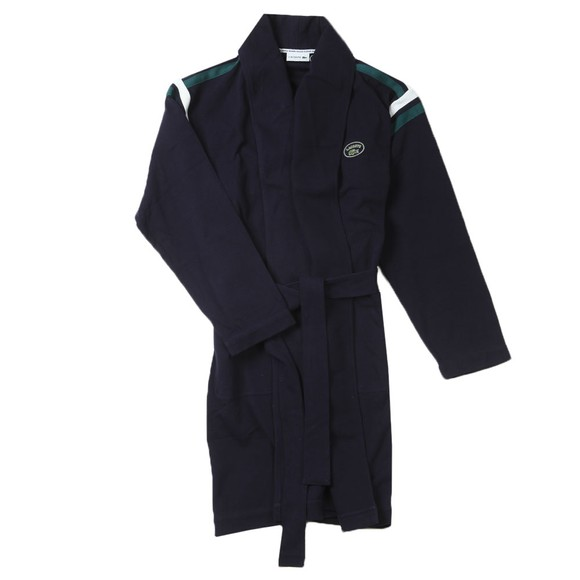 Lacoste Mens Blue 4H1756 Dressing Gown main image