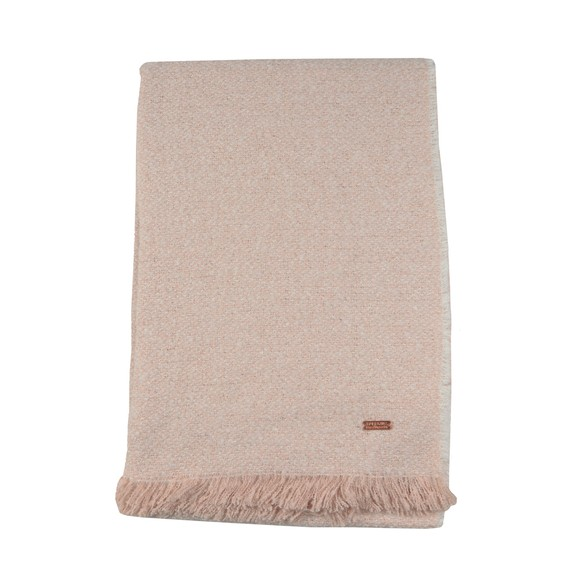 Barbour International Womens Pink Cortina Boucle Scarf