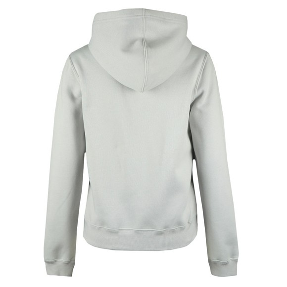 Calvin Klein Jeans Womens Grey Shrunken Logo Hoody main image