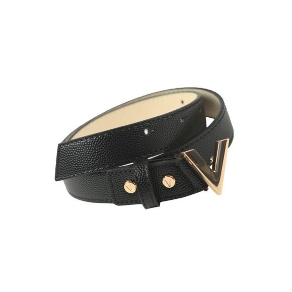 Valentino by Mario Womens Black Divina Belt