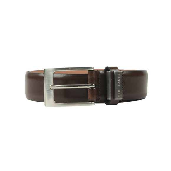 Ted Baker Mens Brown Bilding Leather Belt