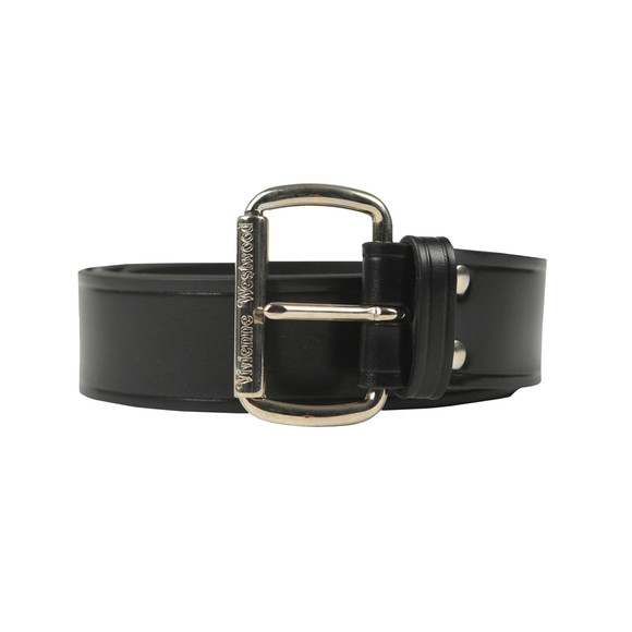 Vivienne Westwood Womens Black Alex Belt