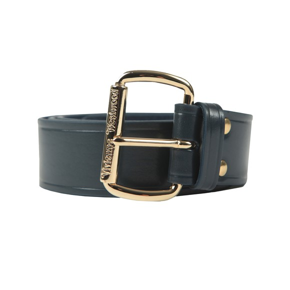 Vivienne Westwood Womens Blue Alex Belt