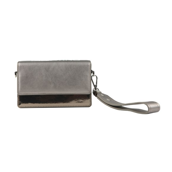 Valentino by Mario Womens Grey Meydani Satchel