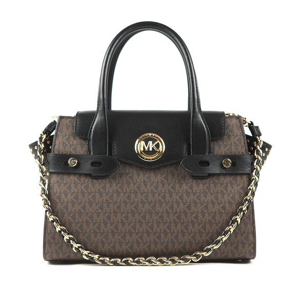 Michael Kors Womens Brown Carmen Satchel  main image