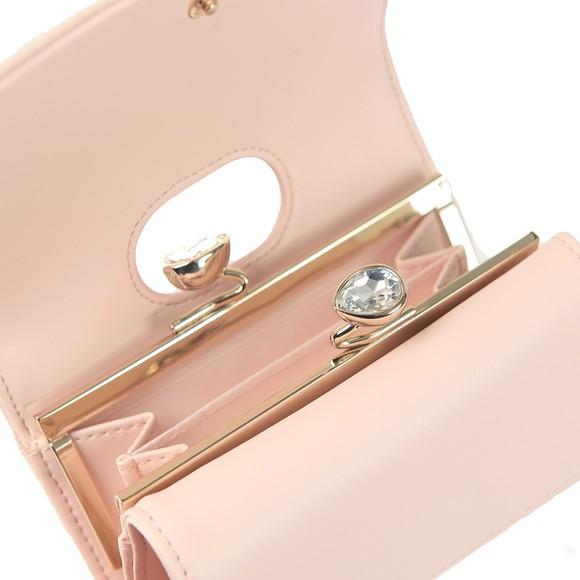 Ted Baker Womens Pink Alyesha Teardrop Crystal Mini Bobble Purse main image