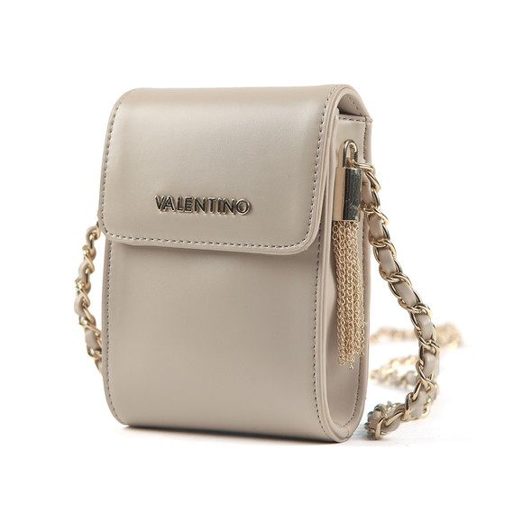 Valentino by Mario Womens Off-White Alexander Pad Small Satchel