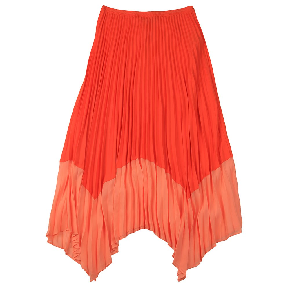 Ali Pleat 2 Tone Skirt main image