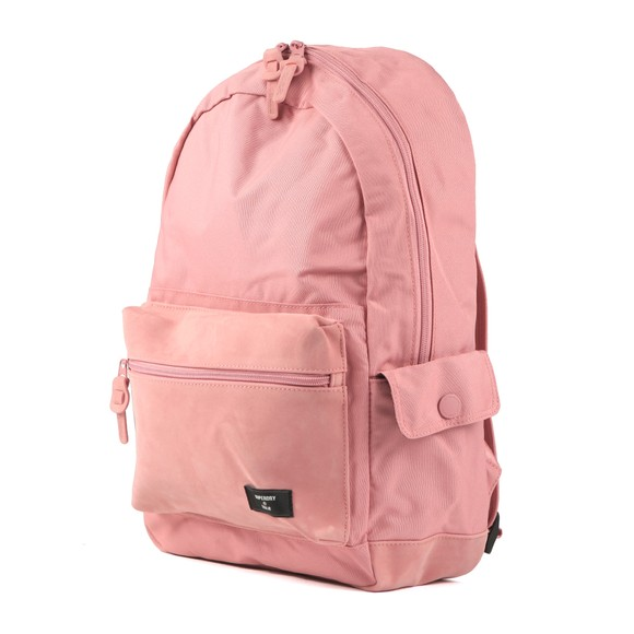 Superdry Womens Pink Suedette Block Edition Montana Backpack