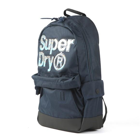 Superdry Womens Blue Aqua Star Montana Backpack main image