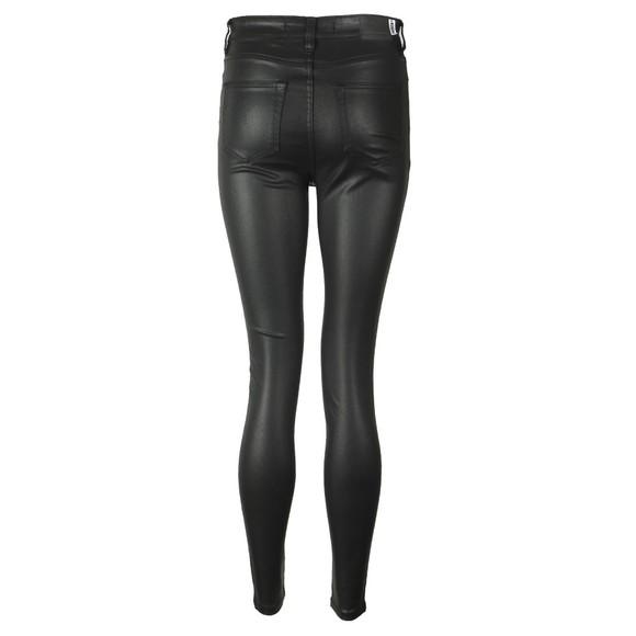 Superdry Womens Black High Rise Skinny Coated Jean main image