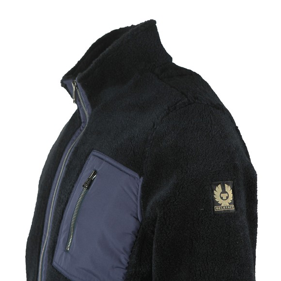 Belstaff Mens Blue Herne Fleece Full Zip