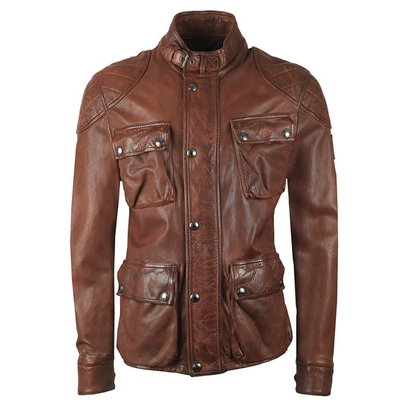 Belstaff Mens Brown Fieldbrook 2.0 Jacket