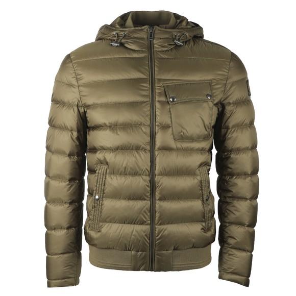 Belstaff Mens Green Streamline Jacket