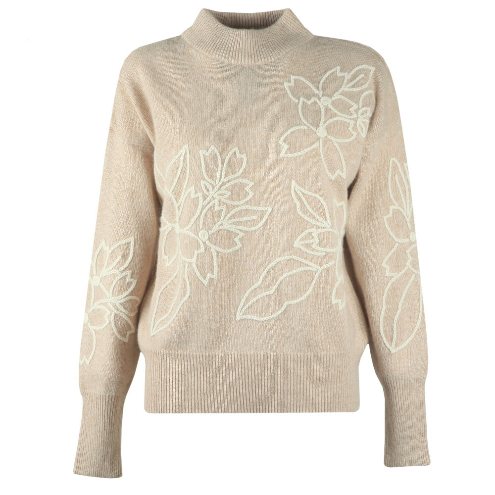 Lami Floral Embroidered Knit Jumper main image