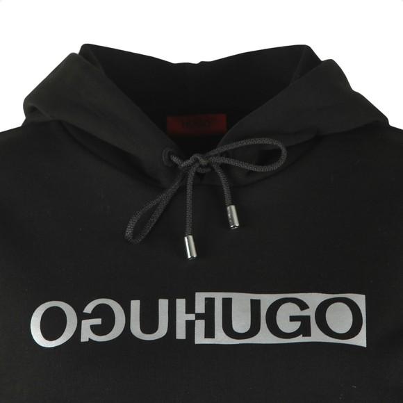 HUGO Womens Black Nemolia_2 Overhead Hoody