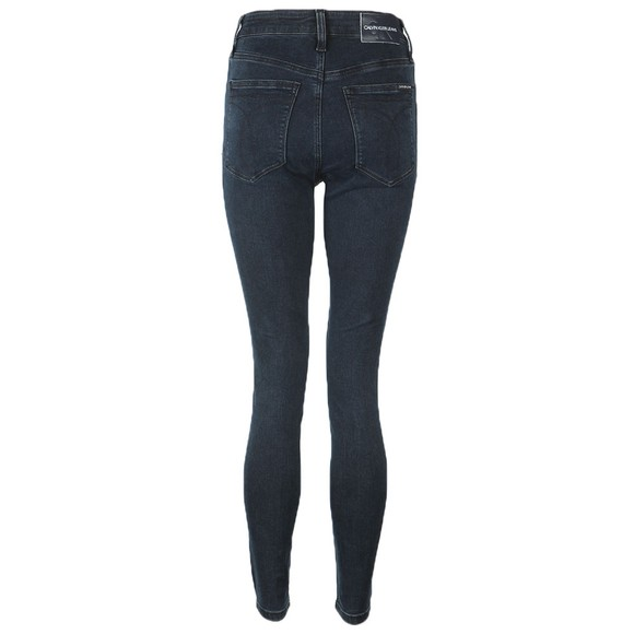 Calvin Klein Jeans Womens Blue High Rise Super Skinny Jean