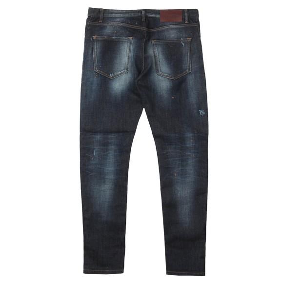 Emporio Armani Mens Blue J09 Slim Tapered Jean main image