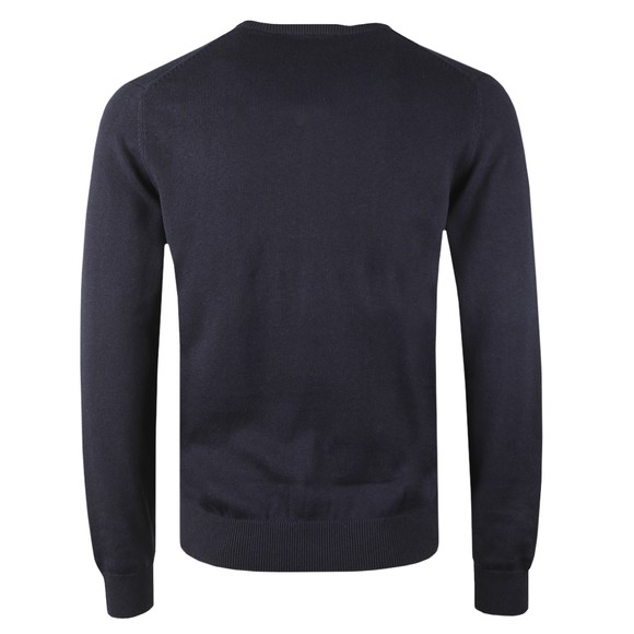 Crew Clothing Company Mens Blue Foxley V Neck Jumper main image