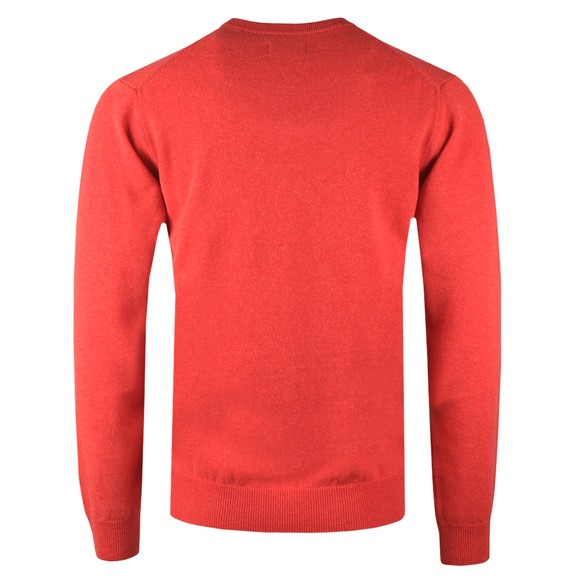 Gant Mens Red V-Neck Jumper main image