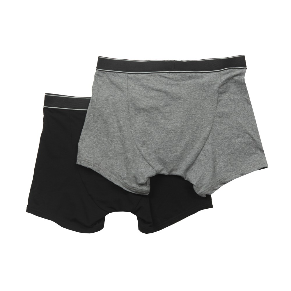 Twin Pack Mid Waist Boxer main image