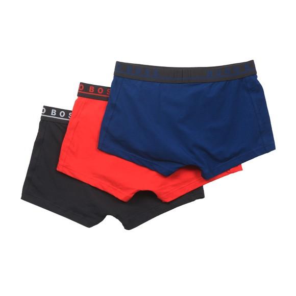 BOSS Bodywear Mens Red/Black/Indigo 3 Pack Trunk