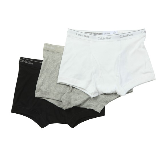 Calvin Klein Mens White 3 Pack Trunk