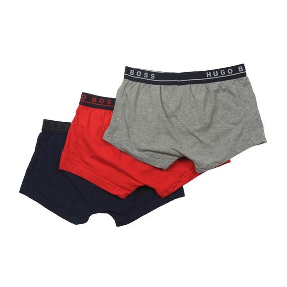 BOSS Bodywear Mens Multicoloured 3 Pack Trunk