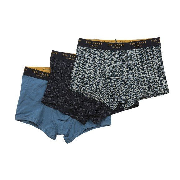 Ted Baker Mens Blue 3 Pack Trunk