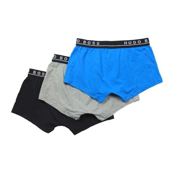 BOSS Bodywear Mens Grey/Blue/Navy 3 Pack Trunk