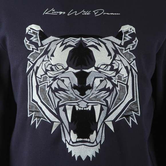 Kings Will Dream Mens Blue Demon Fleece Sweatshirt