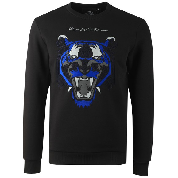 Kings Will Dream Mens Black Demon Fleece Sweatshirt