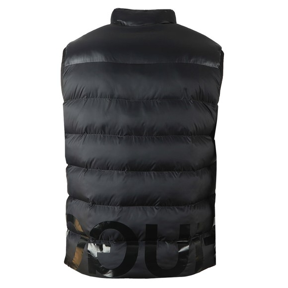 HUGO Mens Black Baltino2041 Gilet main image
