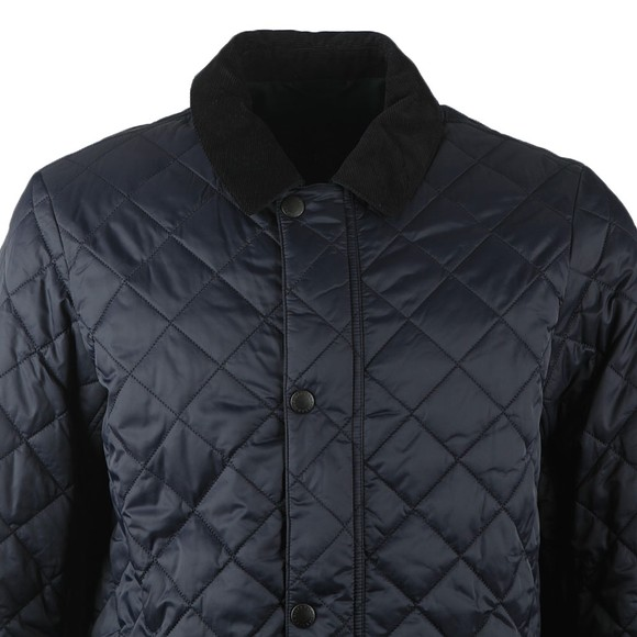 Barbour Lifestyle Mens Blue Diggle Quilt Jacket