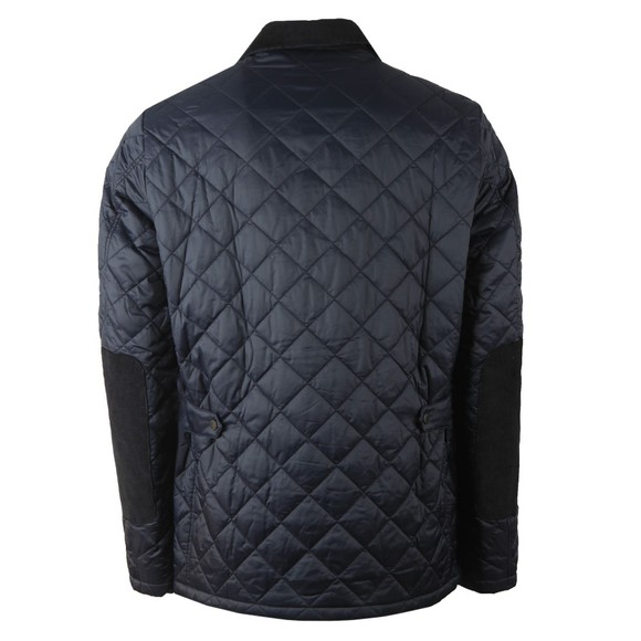 Barbour Lifestyle Mens Blue Diggle Quilt Jacket main image