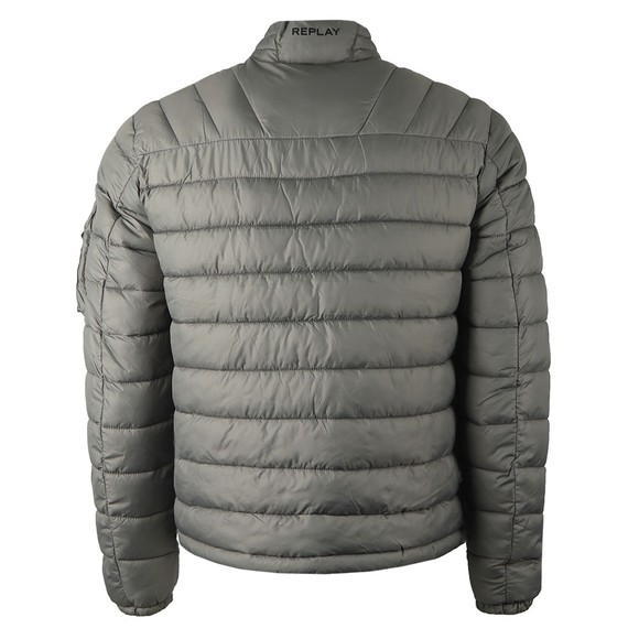 Replay Mens Grey M8080 Quilted Jacket main image