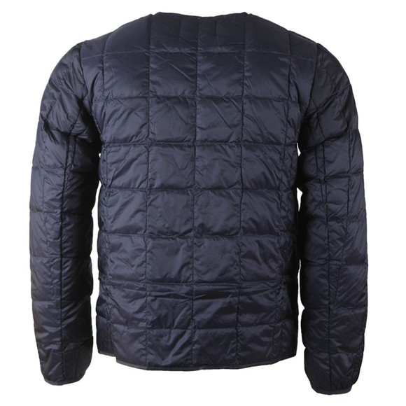 Taion Mens Blue 104 Quilted Layering Jacket