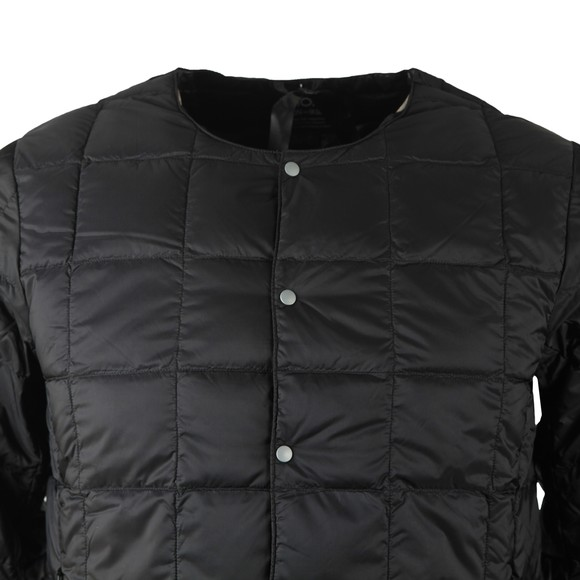 Taion Mens Black 104 Quilted Layering Jacket