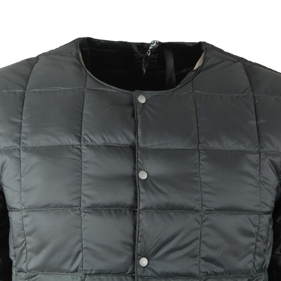 Taion Mens Grey 104 Quilted Layering Jacket